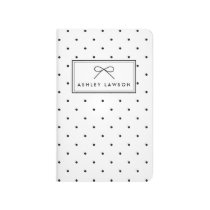 Small Polka Dots Pattern Personalized Journal