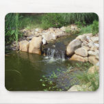 Small Pond and Waterfall Mousepad