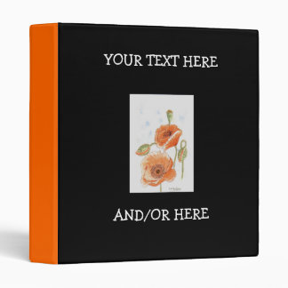 'Small Poppies' Binder