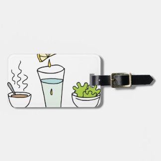 Small portions lunch bag tag