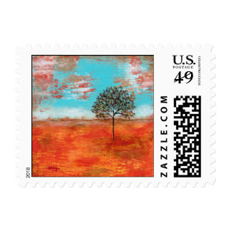 Small Postage Stamps I Will Revere Painting