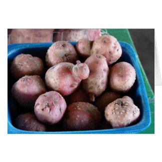 Small Potatoes Card