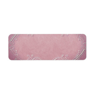 Small Pretty Pink Apothecary Label