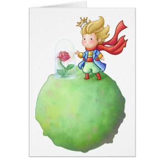 Small Prince Card