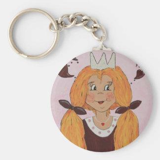Small princess key chain