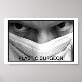 Small Print- Plastic Surgeon Poster