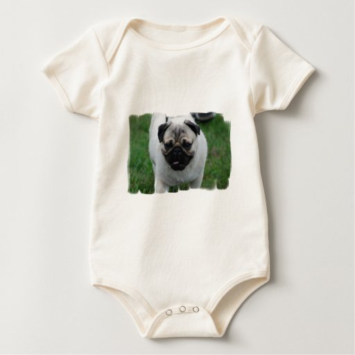 Small Pug Puppy Infant Baby Creeper
