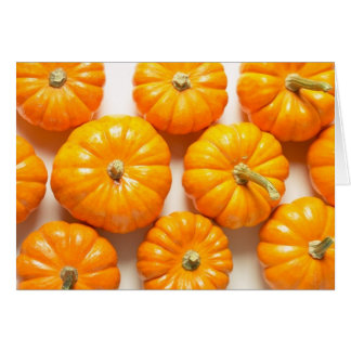 Small Pumpkins Card