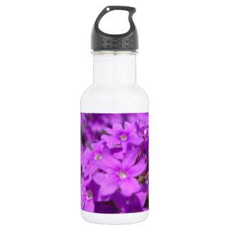 Small Purple Flower 18oz Water Bottle