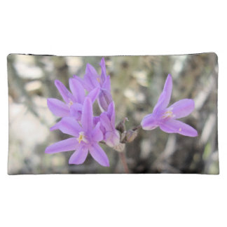 Small Purple flowers Makeup Bag