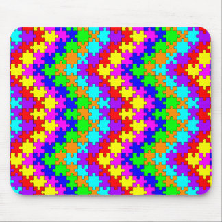 Small Puzzle Pieces Mouse Pad