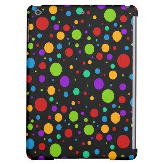 Small Rainbow Color Polka Dots Case For iPad Air