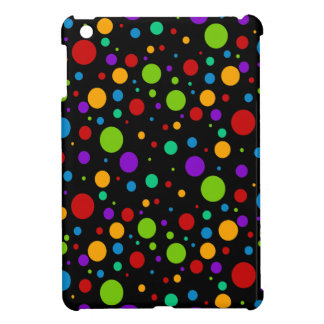 Small Rainbow Color Polka Dots Case For The iPad Mini
