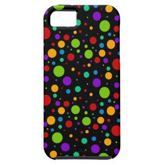 Small Rainbow Polka Dots iPhone SE/5/5s Case