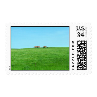 Small Ranch on a Hill Postage