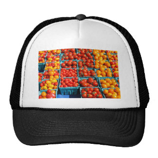 Small Red and Orange Tomatoes Trucker Hat