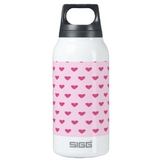 Small Red Hearts SIGG Thermo 0.3L Insulated Bottle