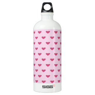 Small Red Hearts SIGG Traveler 1.0L Water Bottle