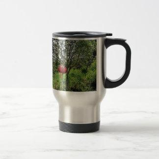 Small Red Lantern Travel Mug