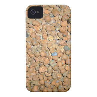 Small Red Stones Granules iPhone 4 Case-Mate Case
