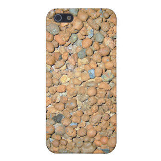 Small Red Stones Granules iPhone 5 Case
