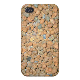 Small Red Stones Granules Cases For iPhone 4