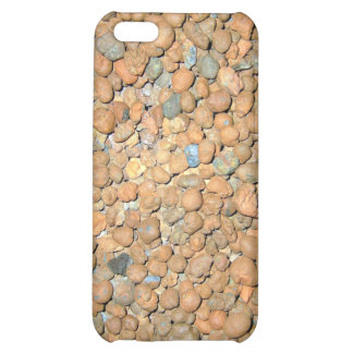 Small Red Stones Granules Cover For iPhone 5C