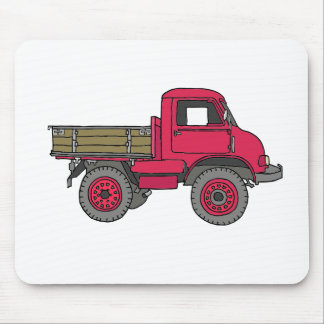Small red vices, trucks mouse pad