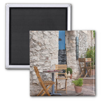Small restaurant in Provence 2 Inch Square Magnet