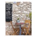 Small Restaurante Customized Letterhead