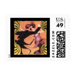 SMALL Roaring 20's Dancing Couple Postage