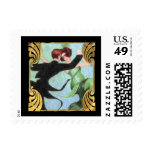 SMALL Roaring 20's Dancing Couple Stamp