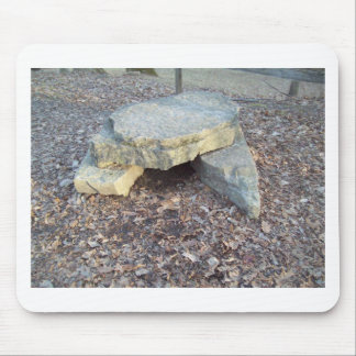 Small Rock Formation Mouse Pad