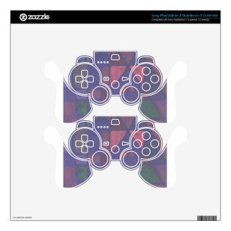 Small room in Venice by Paul Klee PS3 Controller Skin