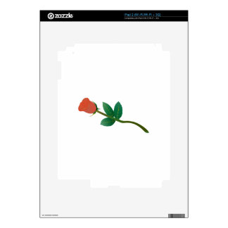 Small Rose iPad 2 Skin