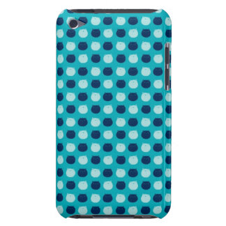 Small Round Cat Polka Dots iPod Touch Cases