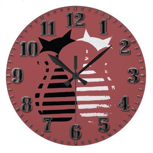 small wall clocks zazzle. Black Bedroom Furniture Sets. Home Design Ideas