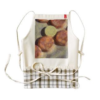 Small round stones zazzle HEART apron