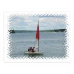 Small Sailboat Postcard