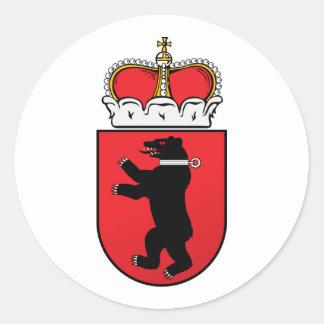 Small  Samogitia, Lithuania Classic Round Sticker