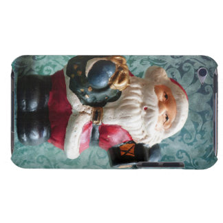 Small Santa Claus figure Barely There iPod Cover