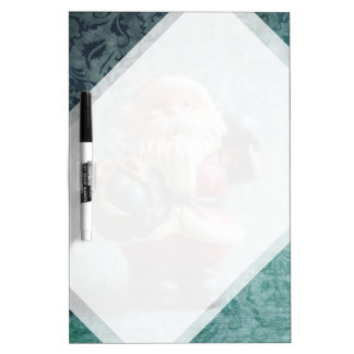 Small Santa Claus figure Dry-Erase Board