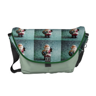 Small Santa Claus figure Messenger Bag