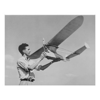Small Scale Airplane: 1944 Poster