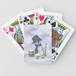 Small Schneemann clears up Bicycle Playing Cards