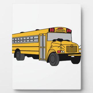Small School Bus Plaque