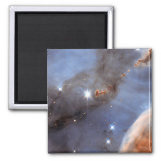 Small Section of the Carina Nebula 2 Inch Square Magnet