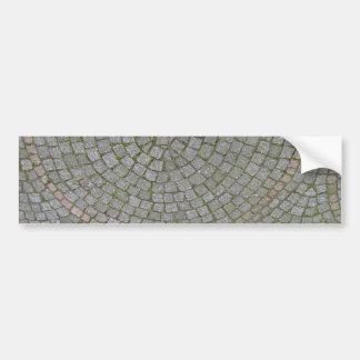 Small Sidewalk Tiles Texture Background Car Bumper Sticker