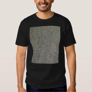 Small Sidewalk Tiles Texture Background T Shirt