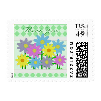 Small Size Spring Blooms Postage Stamps